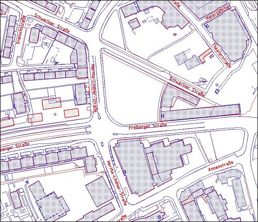 Entwicklung eines Konzepts zur einheitlichen Nutzung der Digitalen Stadtgrundkarte Dresdens bei der DREWAG NETZ GmbH