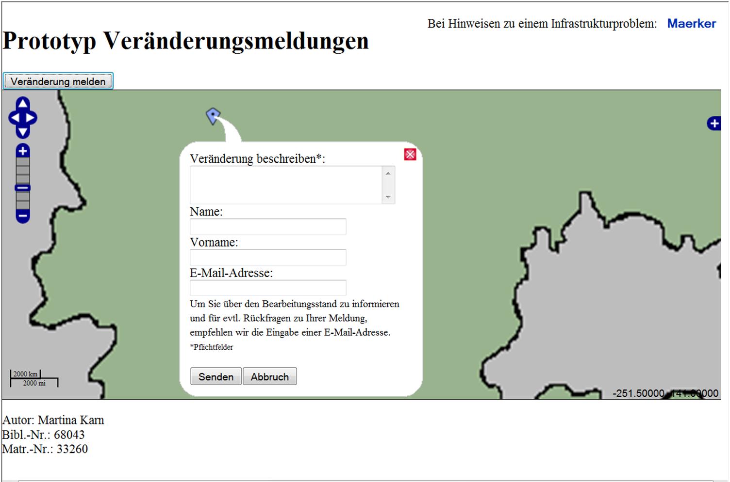 Konzeption einer Internetanwendung zur Kartenaktualisierung mit Bürgerbeteiligung in Brandenburg