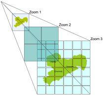 Bildpyramide für kachelnden Datenbestand